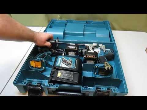 Makita 18-Volt LXT Lithium-Ion Brushless Cordless Combo Kit XPH07 , XDT08