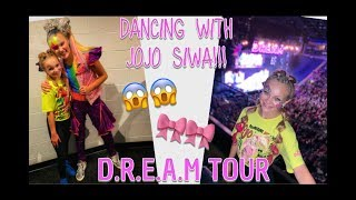 I DANCED WITH JOJO SIWA ON HER D.R.E.A.M TOUR// Pressley Hosbach