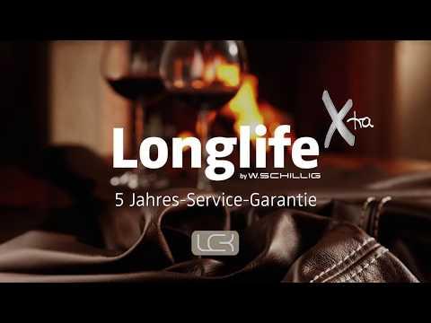 LonglifeXtra Leder by W.Schillig + 5 Jahres Service-Garantie von LCK