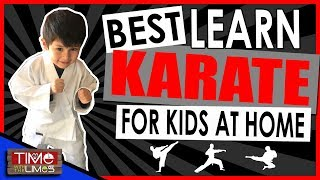 How To Learn Karate At Home For Kids