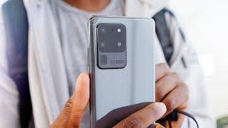 Samsung Galaxy S20 Ultra 5G Impressions: 108 Megapixels!