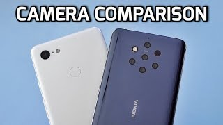 Nokia 9 PureView VS Google Pixel 3 XL CAMERA COMPARISON!
