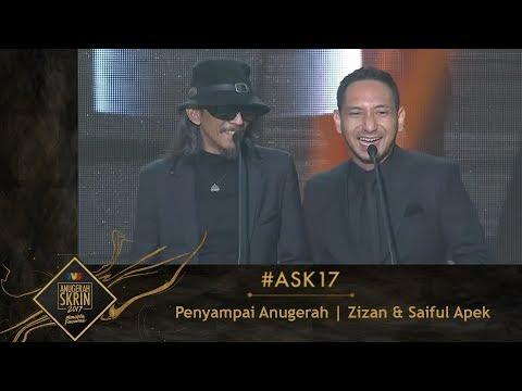 Download #ASK17 | Moment Zizan & Saiful Apek Penyampai Anugerah HD Mp4 3GP Video and MP3