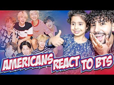AMERICANS REACT TO BTS (K-POP MUSIC)
