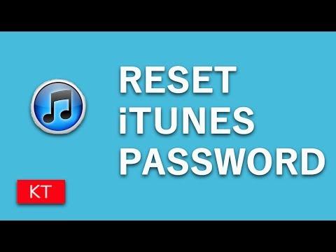 How to change iTunes password   How to reset iTunes password