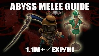 Runescape 3] Abyss Chinning Guide with Range Dummies | 1m+ Exp/h
