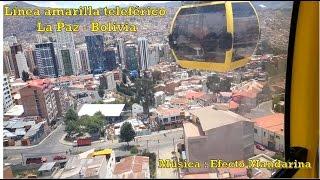 preview picture of video 'Teleférico línea amarilla  La Paz - Bolivia'