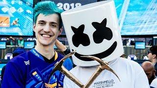 Marshmello & Ninja WIN FORTNITE Pro-AM!!!   E3 Battle Royale Celebrity Tournament