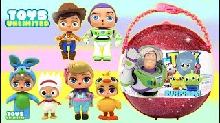 Disney Pixar TOY STORY 4 Custom L.O.L. Doll Giant Ball Surprise with Forky