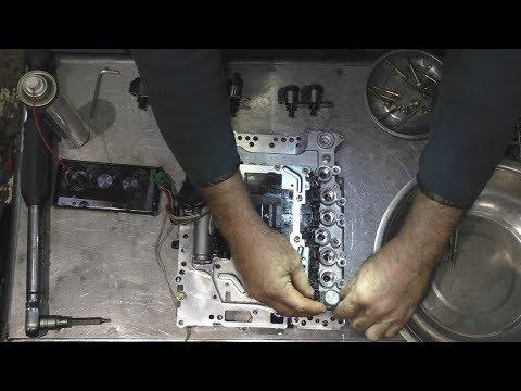 Фото к видео: Infiniti FX35 замена масла в АКПП (пинки на холодную) jatco RE5R05A