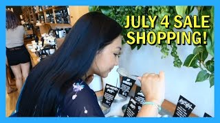 Fourth of July Sale Shopping!
