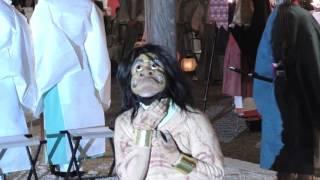 「4K」京都 吉田神社 節分前日祭 追儺式(鬼やらい神事)20170202
