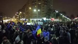Massive Protests In Romania Over Draft Pardon Bill