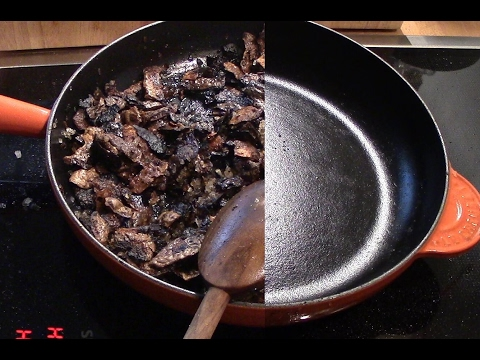 Küchentipp #9 Gußeisenpfanne einbrennen