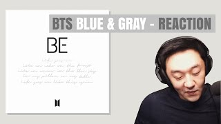 DJ REACTION to KPOP - BTS BLUE AND GREY