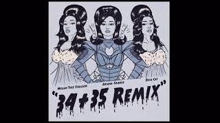 Ariana Grande - 34+35 (Remix) feat. Doja Cat and Megan Thee Stallion (Audio)
