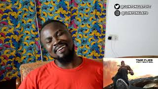 BURNA BOY - TIME FLIES FT SAUTI SOL | TWICE AS TALL | FIRST TIME LISTEN AND REACTION