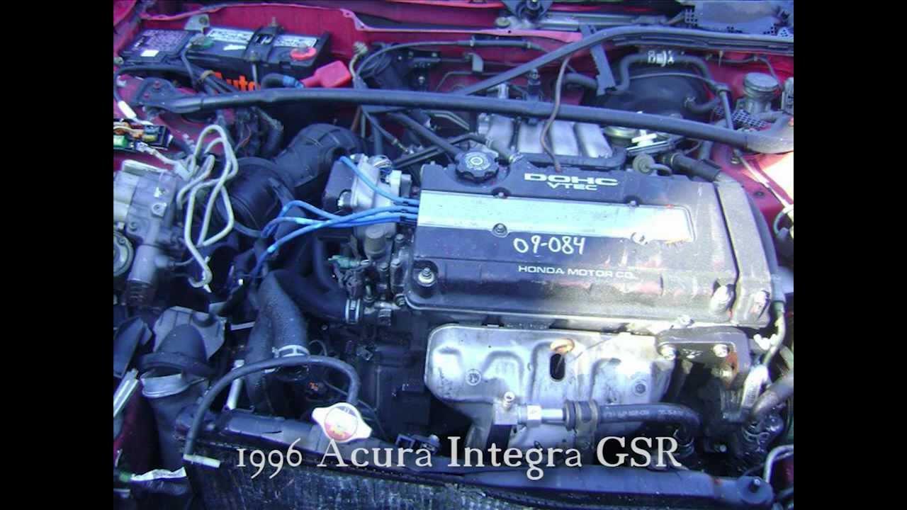 Used Oem Acura Integra Parts Ah Dismantlers 97 Engine Diagram