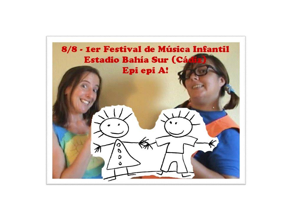 """""""Epi epi A!"""" en el I Festival de Música Infantil - Babyradio"""