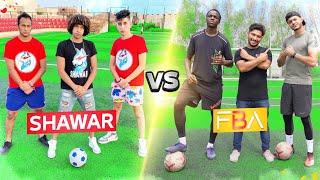 تحدي فريق (FBA) ضد فريق (SHAWAR)! | نتيجة غير متوقعة😍🔥