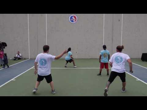 Urban Health Wallball Tournament Finale - Jorge T. & Tylor D. vs Cory P. & Doug D.