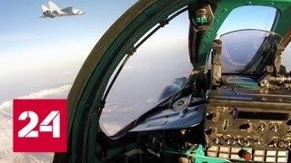 Бой в стратосфере на сверхзвуке: на Камчатке МиГ-31 отработали перехват нарушителей - Россия 24