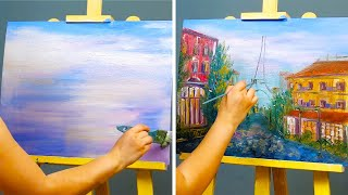 4 AWESOME LANDSCAPE PAINTING IDEAS