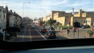 preview picture of video 'Bus Ride, TfL Route 103 (From Becontree Heath to Romford Bus Garage)'