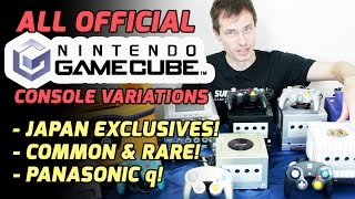 All Official (and Rare) GameCube Console Variants | Super Gangu