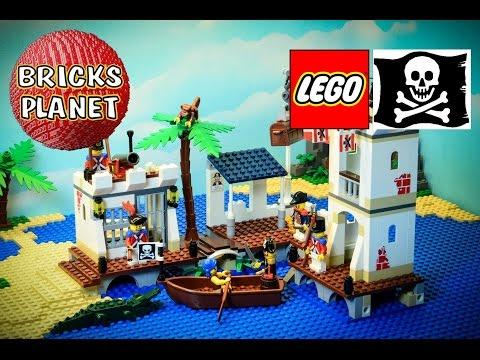 Vidéo LEGO Pirates 6242 : Le fort des soldats