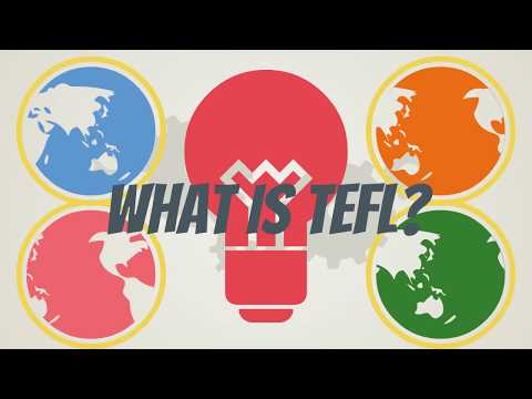 What is TEFL and TEFL certification? - YouTube
