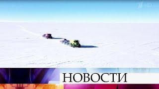 Дневник первого автономного автопробега в Антарктиде: самое интересное расскажет и покажет В.Пельш.
