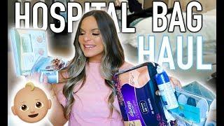 HOSPITAL BAG HAUL... WHAT I PLAN ON BRINGING! | Casey Holmes Vlogs