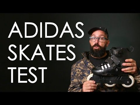 ADIDAS INLINE SKATES MADE WITH USD FRANKY MORALES SKATES REVIEW // VLOG 137