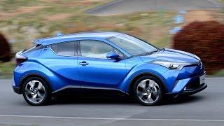 トヨタ新型SUV「C-HR」を速攻試乗!ニュルで鍛えた走りはどうなのか!?