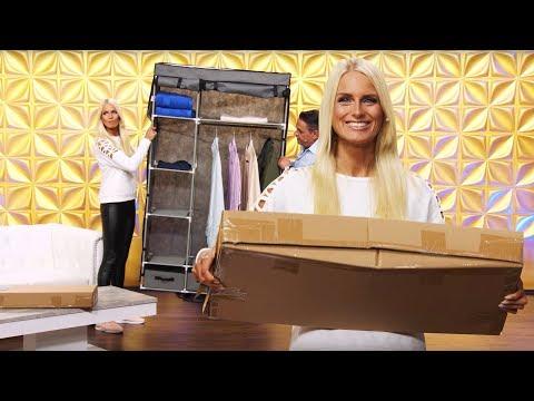 Anne-Kathrin Kosch zeigt Ihren Kleiderschrank 👗👠(September 2018) 4K UHD