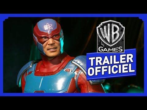 Trailer pour le personnage d'Atom de Injustice 2