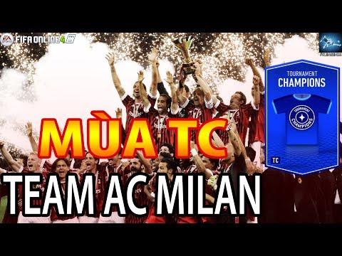 FO4 | Danh sách Team AC Milan mùa TC - FIFA Online 4 Việt Nam