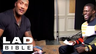 LADbible: Roles Reversed -Dwayne The Rock Johnson Impersonates Kevin Hart