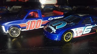 Hotwheels Unboxing: Dodge Charger Stock Car And Chevy 1500!!!