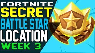 Fortnite Week 3 Hidden Battle Star Loading Screen 免费在线视频最佳