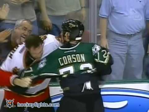 Shayne Corson vs. Josh Green