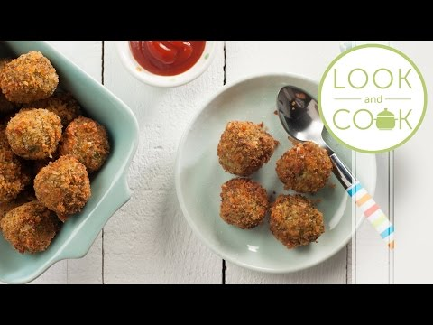 Video Broccoli Poppers Recipe - Look and Cook step by step recipes | How to make Broccoli Poppers Recipe