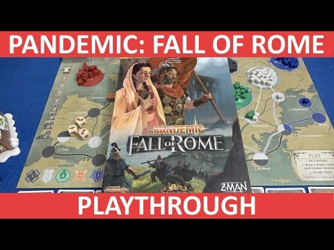 Pandemic: Fall of Rome - Playthrough - slickerdrips