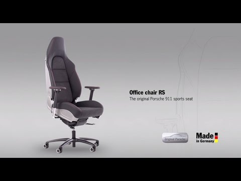 Porsche office chair Porsche 911 ... & Porsche Office Chairs Are Really Cool Cost Up to $6569 - autoevolution