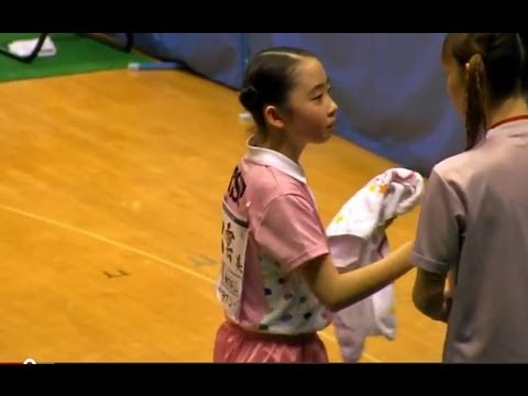 Table Tennis 出雲美空 × 石井あみ 1/2 東京卓球2012-317