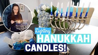 HOW TO LIGHT HANUKKAH CANDLES! + COLLAB!