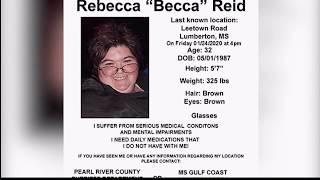 Search continues for Rebecca Reid