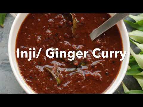 Inji /Ginger curry