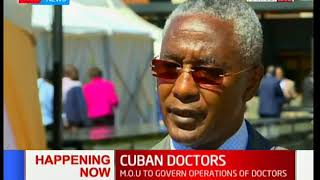 Ministry of Health signs MOU with COG to hire Cuban doctors